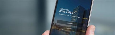 Servicetjänster digitaliseras med ny app från KONE