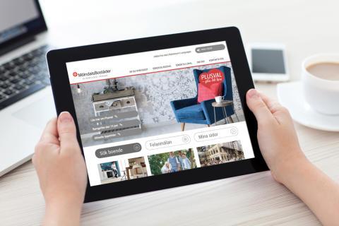 Snabbare och enklare för hyresgäster med webbtjänster