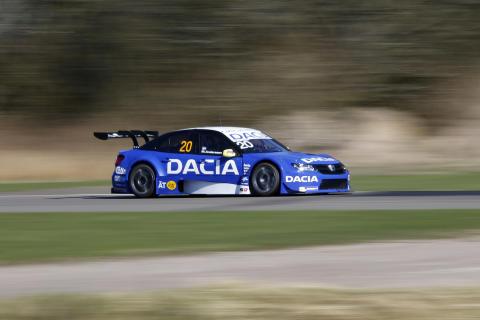 Mattias Andersson, Dacia Dealer Team. Foto: Racefoto.