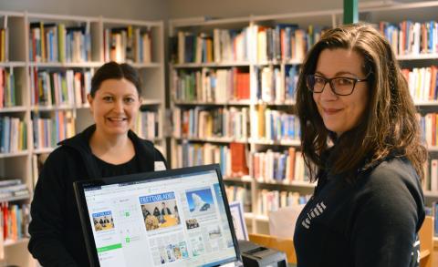 Bibliotekets digitala gratistjänster i fokus under All Digital Week
