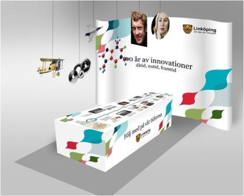 Idéer som blev verklighet - utställning på Innovationsdagen 3 november