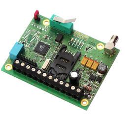 Lättinbyggd fjärrövervakare för GSM