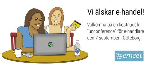 E-handlare! Missa inte Emeet i Göteborg 7:e september!