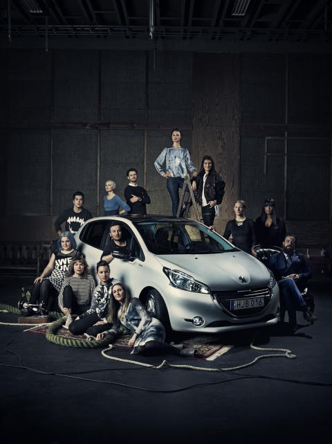 Peugeot - Swedish Fashion Talents