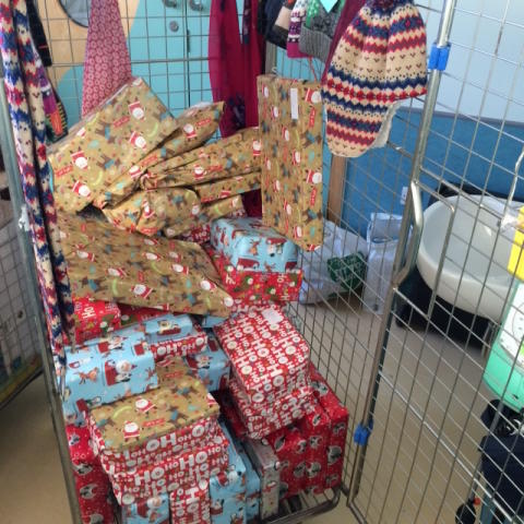 All wrapped and ready to be delivered to the Children's ward at NUH......