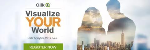 Qlik® Visualize YOUR World Tour Helsinki