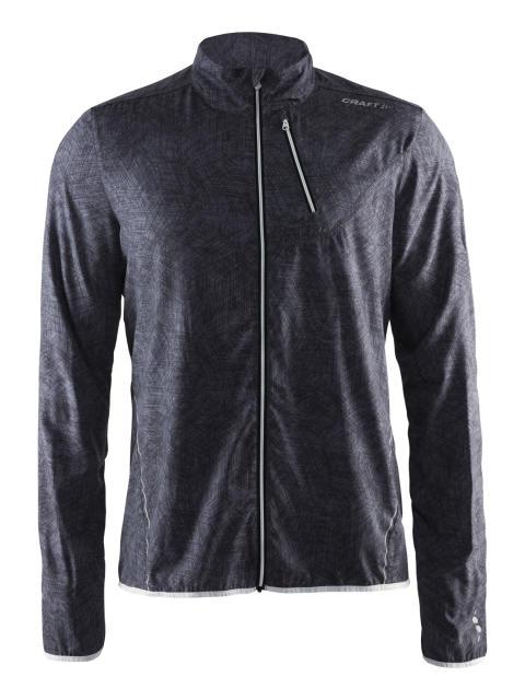 Mind jacket (herr) i färgen line black.