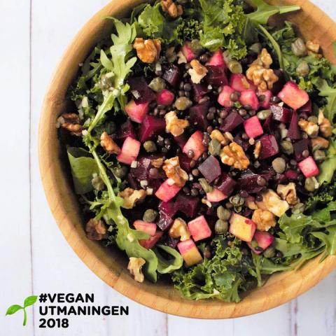 Utmaning: Våga äta veganskt i 28 dagar