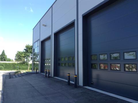 Den nyetableret bygning ved Hydremas domicil i Støvring