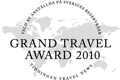 Tour Pacific återigen nominerat till Grand Travel Award