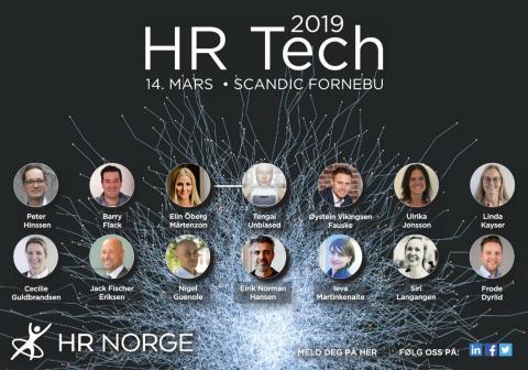 Elin Öberg Mårtenzon föreläser på HR Tech 2019 i Oslo