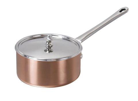 Scanpan - Kastrull med lock koppar 0,6 L