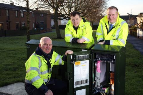 G.fast broadband bringing ultrafast speeds to Antrim