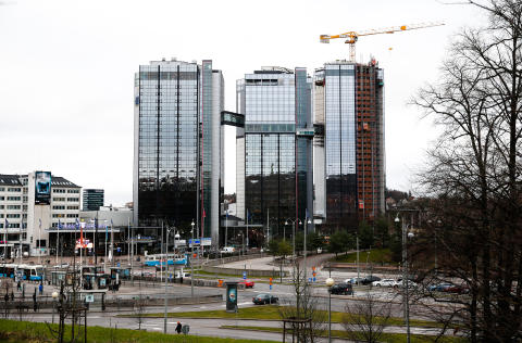 Gothia Towers dag