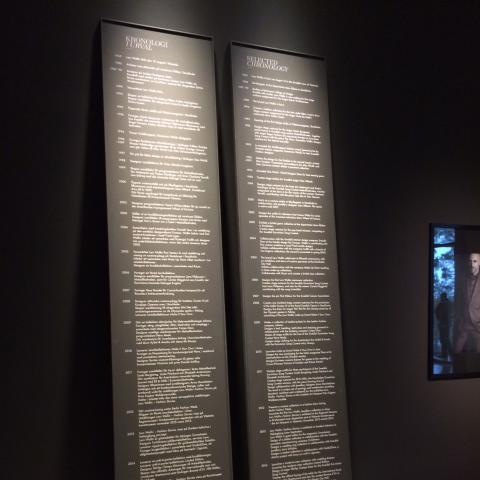 Skylt från Clarex, Artipelag utställning Lars Wallin bild 4