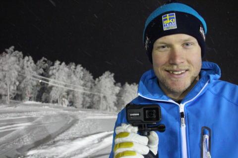 Garmin® skriver sponsoravtal med Ski Cross-åkaren Victor Öhling-Norberg