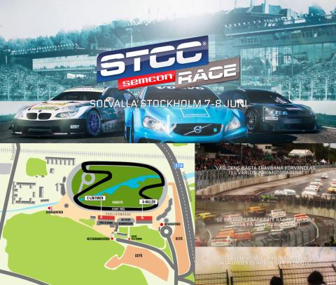 STCC på Solvalla Travbana 7-8 juni