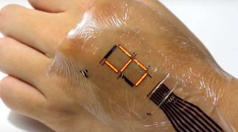 On-Body-Flexible-Medical-Devices-get-the-newly-developed-Epidermal-Display-Screens