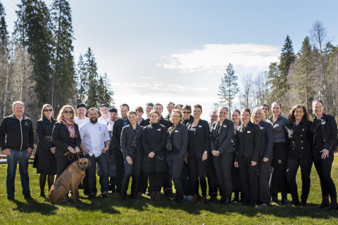Loka Brunn och Grythyttans Gästgivaregård miljöcertifierade enligt ISO 14001.