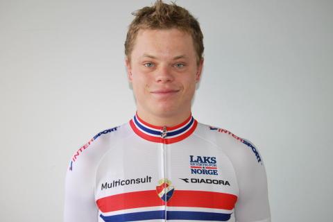 Truls Korsæth under sykkel-VM 2016