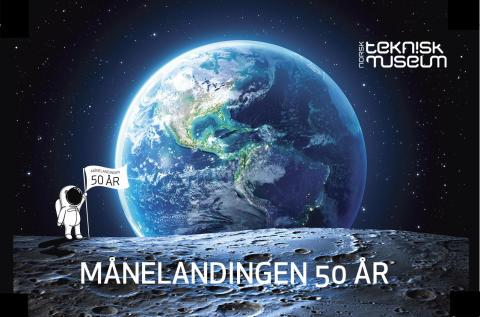 MÅNELANDINGEN 50 ÅR åpner 11. april, kl. 11