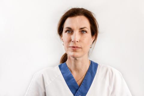 Birgitta Lytsy, läkare inom vårdhygien