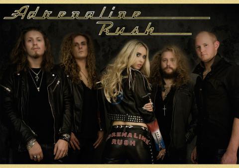 Frontiers Records-signade Adrenaline Rush inviger STHLM Rockstars exklusiva Rockklubb