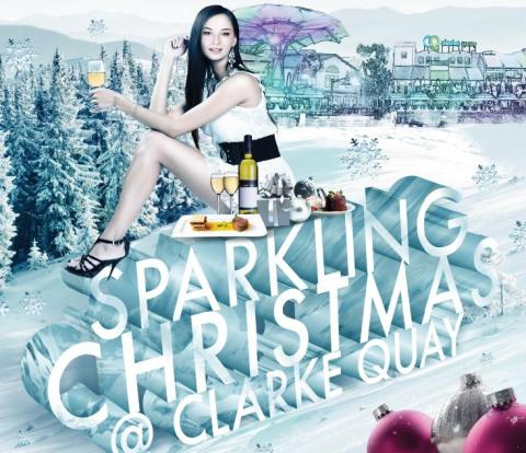 PRESS RELEASE: IT'S A STAR-STUDDED SEASON OF MERRY MAKING AT CLARKE QUAY!
