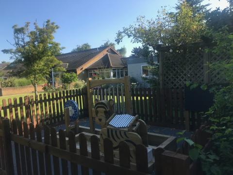 Kathy's memory lives on in ellenor outdoor sensory play area