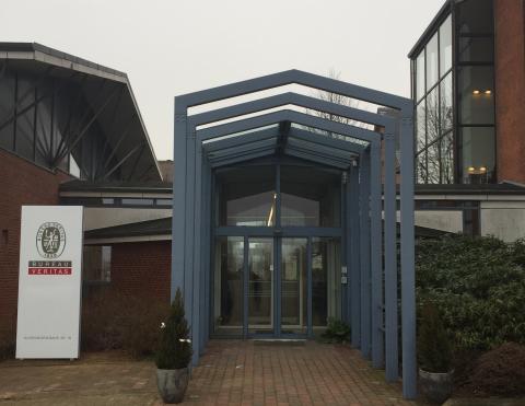 Reception hos Bureau Veritas - besøg vores flotte nye kompetencecenter