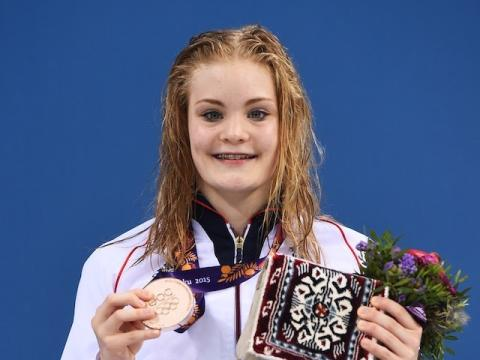 Swimmer Layla Black shortlisted for SportsAid's One-to-Watch Award