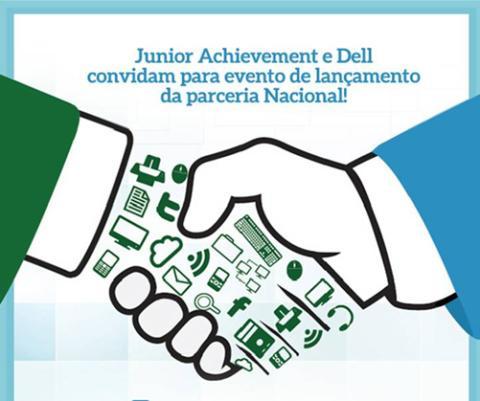 Junior Achievement e Dell firmam parceria para incentivar o uso da tecnologia e o empreendedorismo em escolas públicas de SP e RS
