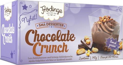 Chocolate Crunch är en av tre små desserter från Frödinge