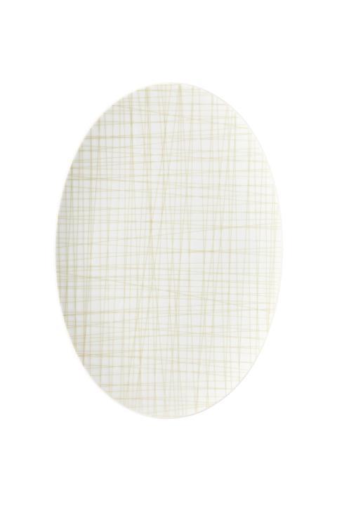 R_Mesh_Line Cream_Platter 30 cm