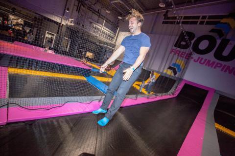 Roligt på Free Jump