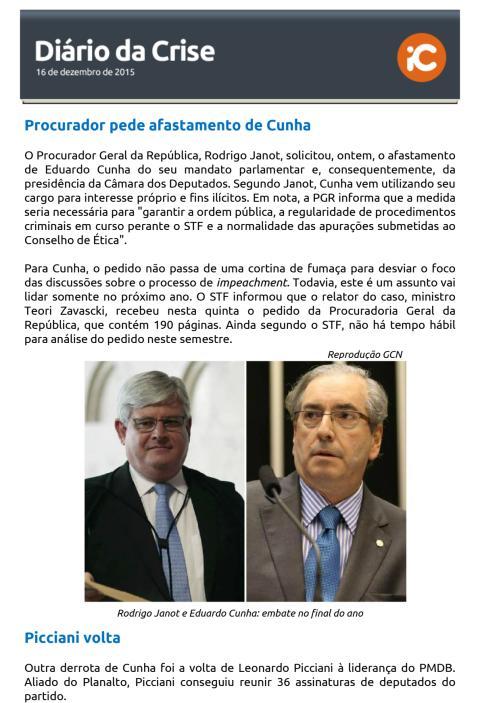 Diário da Crise - 17.12.2015