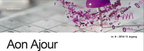Aon Ajour 9-2014: Er du godt nok sikret, hvis din arbejdsevne forsvinder?