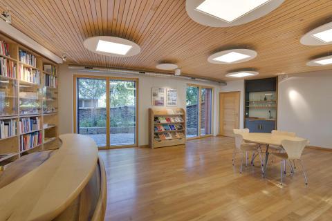 IBN-Gebäude Innenansicht Ausstellungsraum