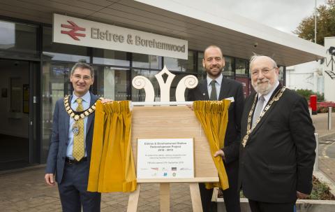 Local community celebrates £1.5m upgrade of Thameslink station