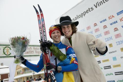 Susanne Nyström vann Tjejvasan för fjärde året i rad