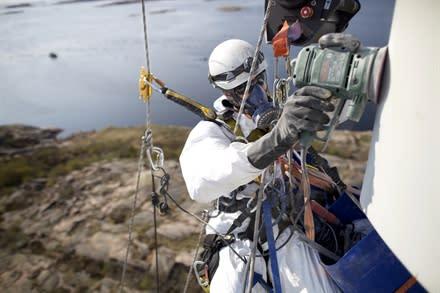 Rope Access Sverige expanderar inom vindkraft