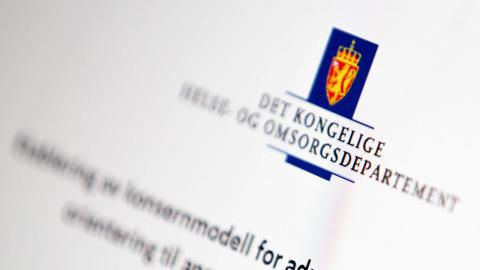 Etablering av tjenestesenter i Norsk Helsenett SF