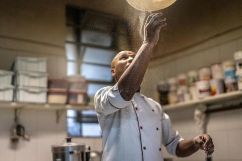 Märstas bästa, och landets tionde bästa, pizzeria heter Pizzeria Pomodoro