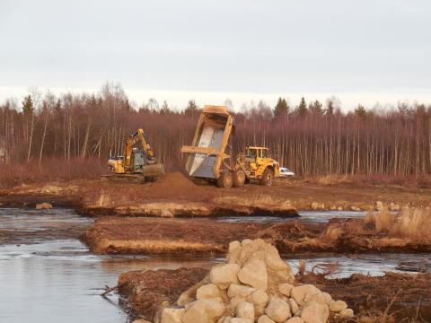 Gigantiskt saneringsprojekt avslutat i Skellefteå