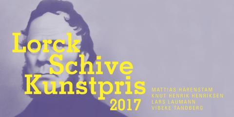 Utstillingsåpning: Lorck Schive Kunstpris 2017