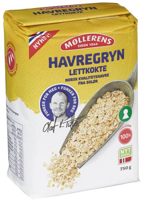 Havregryn Lettkokt 750 gr