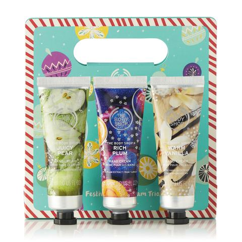 Festive Seasonal Hand Cream Trio