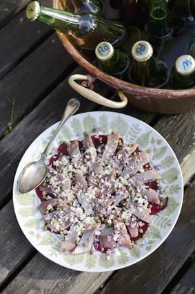 Oliven rekommenderar: Matjessill och hembryggt öl
