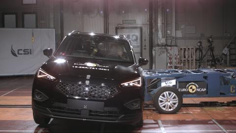 SEAT Tarraco Side Crash Test