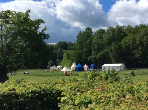 Nu har Riddarlägret på Skoklosters slott startat!